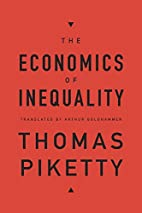 The Economics of Inequality by Thomas…