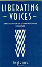 Liberating Voices by Gayl Jones