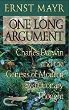 One Long Argument: Charles Darwin and the…
