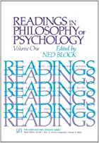 Readings in Philosophy of Psychology, Volume&hellip;