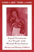 Equal Treatment for People with Mental…