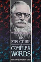 The Structure of Complex Words by William…