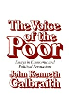 The Voice of the Poor: Essays in Economic…