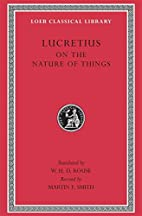 Lucretius: On the Nature of Things (Loeb…