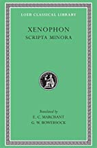 Xenophon VII (Hiero. Agesilaus. Constitution…