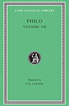 Philo: On the Decalogue. On the Special…