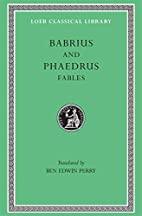 Fables: Babrius and Phaedrus (Loeb Classical…