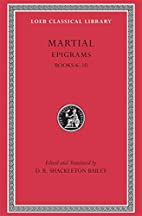 Epigrams: v. 2 (Loeb Classical Library) by…