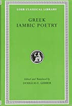 Greek Iambic Poetry: From the Seventh to the…