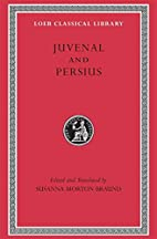 Juvenal and Persius by Juvenal