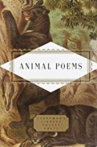 Animal Poems by John Hollander