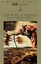 The Book of Genesis: The Authorized Version…