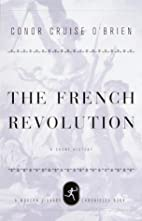 French Revolution (Modern Library) by Conor…