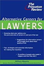 Alternative Careers for Lawyers (Princeton…