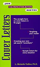 Job Notes: Cover Letters (Job Notes Series)…
