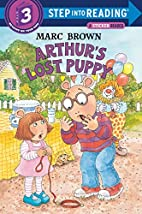 Arthur's Lost Puppy by Marc Brown