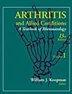 Arthritis and Allied Conditions: A Textbook…