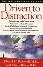 Driven to Distraction: Recognizing and…