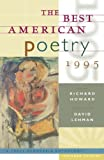 Lehman, David: The Best American Poetry 1995