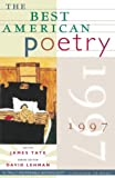 James Tate: The Best American Poetry 1997