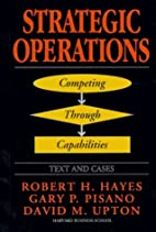 STRATEGIC OPERATIONS: Competing Through…