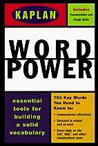 Kaplan Word Power (Power Series) by Meg F.…