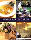 Rita Milos Brownstein: Jewish Holiday Style