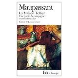 Maupassant, Guy de: Maison Tellier (French Edition)