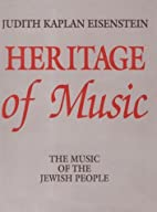 Heritage of music: the music of the Jewish…
