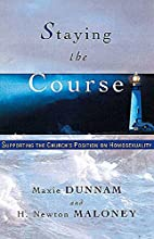 Staying the Course by Maxie Dunnam