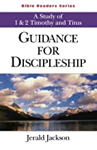 Guidance for Discipleship Student: A Study…