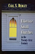 Effective Small Churches in the Twenty-First…