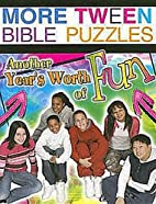 More Tween Bible Puzzles: Another Year's…