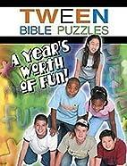 Tween Bible Puzzles by Abingdon Press