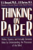 Howard, V. A.: Thinking on Paper