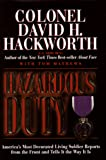 Mathews, Tom: Hazardous Duty: America's Most Decorated Living Soldier Reports from the Front and Tells It the Way It Is