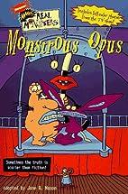 Monstrous Opus by Jane B. Mason