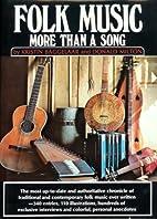 Folk Music: More Than a Song by Kristin…