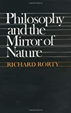 Philosophy and the Mirror of Nature by&hellip;