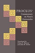 Proclus' Commentary on Plato's…