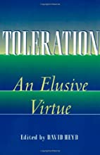 Toleration by David Heyd