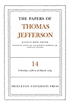 The Papers of Thomas Jefferson, Volume 14: 8…