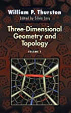 Three-Dimensional Geometry and Topology by…