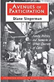 Diane Singerman: Avenues of Participation: Family, Politics, and Networks in Urban Quarters of Cairo (Princeton Studies in Muslim Politics)