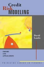 Credit Risk Modeling: Theory and…