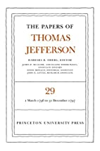 The Papers of Thomas Jefferson: Volume 29: 1…