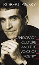 Democracy, Culture and the Voice of Poetry…