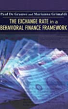 The Exchange Rate in a Behavioral Finance…