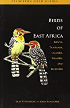Birds of East Africa by Terry Stevenson