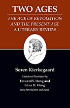 Kierkegaard's Writings, XIV: Two Ages:…